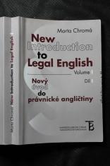 náhled knihy - New introduction to legal English = Nový úvod do právnické angličtiny