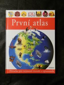 náhled knihy - První atlas : [příručka pro nejmenší čtenáře a spisovatele