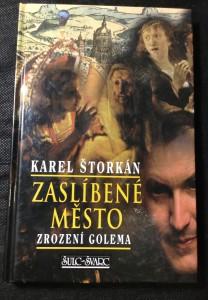 náhled knihy - Zaslíbené město : zrození Golema