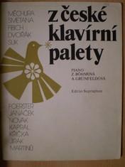 náhled knihy - Z české klavírní palety
