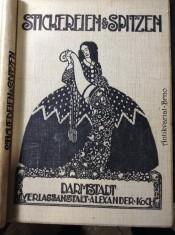 náhled knihy -  Stickerei-Zeitung und Spitzen-Revue