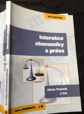 náhled knihy - Interakce ekonomiky a práva