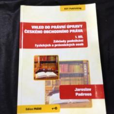 náhled knihy - Vhled do právní úpravy českého obchodního práva. 1. díl, Základy podnikání fyzických a právnických osob