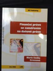 náhled knihy - Finanční právo se zaměřením na daňové právo