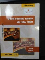náhled knihy - Vývoj veřejné žaloby do roku 1989