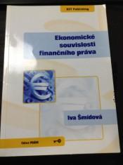 náhled knihy - Ekonomické souvislosti finančního práva