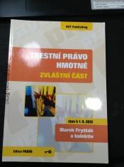 náhled knihy - Trestní právo hmotné : stav k 1.9.2012