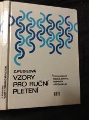 náhled knihy - Vzory pro ruční pletení : vzory pletené hladce, obrace, snímáním a křížením ok