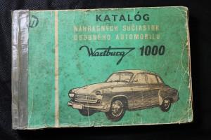 náhled knihy - Katalóg náhradných súčiastok osobného automobilu Wartburg 1000