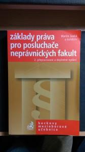 náhled knihy - Základy práva pro posluchače neprávnických fakult