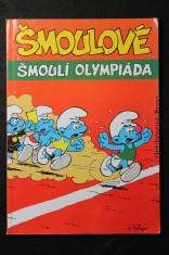 náhled knihy - Šmoulí olympiáda ; Šmoulí Velikonoce ; Šmoulí zahrada