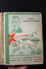 náhled knihy - Bez masky : Román - historie - doklady - pravda