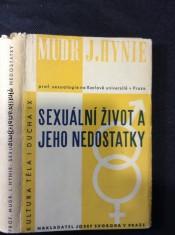 náhled knihy - Sexuální život a jeho nedostatky