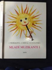 náhled knihy - Mladí muzikanti I : knížka o hudbě pro 1. ročník lidových škol umění : metodické poznámky pro učitele