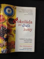 náhled knihy - Čokoláda pro duši ženy : sedmdesát sedm příběhů, které nasytí duši a zahřejí u srdce