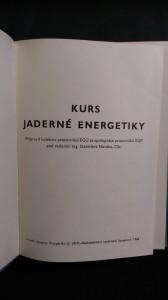 náhled knihy - Kurs jaderné energetiky