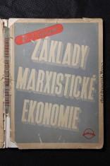 náhled knihy - Základy marxistické ekonomie