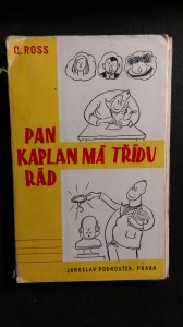 náhled knihy - Pan Kaplan má třídu rád