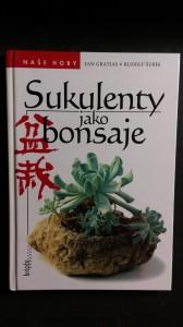 náhled knihy - Sukulenty jako bonsaje