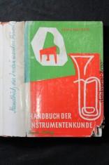 náhled knihy - Handbuch der Musik-Instrumenten-Kunde