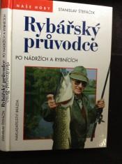náhled knihy - Rybářský průvodce po nádržích a rybnících