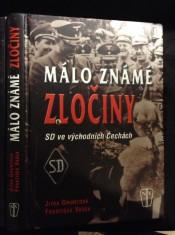 náhled knihy - Málo známé zločiny : SD ve východních Čechách