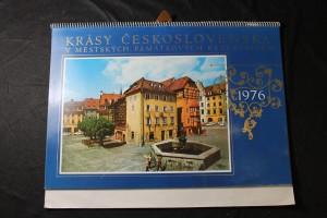 náhled knihy - Krásy Československa v městských památkových rezervacích 1976