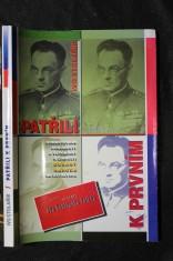 náhled knihy - Patřili k prvním : komentované dokumenty a vzpomínky k činnosti Obrany národa na Ostravsku