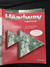 náhled knihy - New Headway Elementary: Teacher´s book