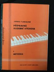 náhled knihy - Přípravná hudební výchova I. Metodika