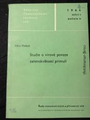 náhled knihy - Studie o virové povaze zelenokvětosti primulí