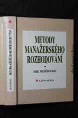 náhled knihy - Metody manažerského rozhodování