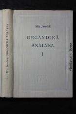 náhled knihy - Organická analysa : celost. vysokošk. příručka. 1. [díl]