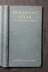 náhled knihy - Kapesní zeměpisný atlas. Kalendář na rok 1933