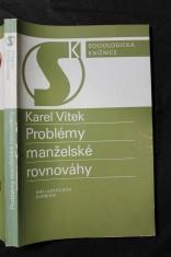 náhled knihy - Problémy manželské rovnováhy : východiska rozvodové prevence