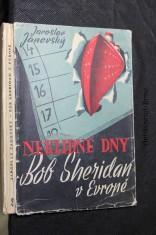 náhled knihy - Bob Sheridan v Evropě : Neklidné dny : Detektivní román