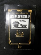 náhled knihy - Lidé, vlaky, koleje