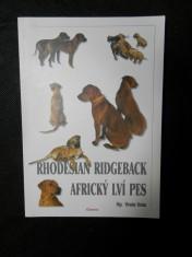 náhled knihy - Rhodesian ridgeback africký lví pes