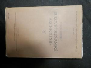náhled knihy - Rukověť slovanské archeologie = Manuel de l'archéologie slave