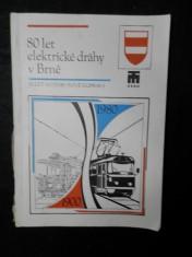 náhled knihy - 80 let elektrické dráhy v Brně ; 50 let autobusové dopravy v Brně