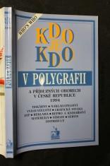 náhled knihy - Kdo je kdo v polygrafii a příbuzných oborech v České republice 1994