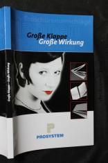 náhled knihy - Grosse Klappe, Frosse Wirkung