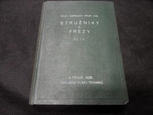 náhled knihy - Stružníky či frézy - Díl I-II.