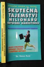 náhled knihy - Skutečná tajemství milionářů network marketingu : senzační zpráva Dr. Packa