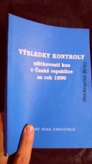 náhled knihy - Výsledky kontroly užitkovosti koz za rok 1999