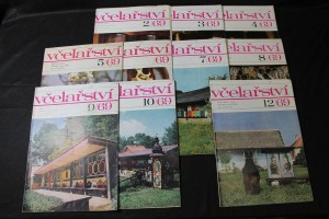 náhled knihy - Včelařství. Ročník XXII. Číslo 2-10, 12 /1969