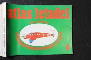 náhled knihy - Atlas letadel : Jednomotorová dopravní letadla. Sv. 8