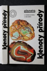 náhled knihy - Klenoty přírody : drahé kovy, kameny a šperky