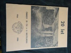 náhled knihy - 20 let činnosti ZO ČSS 6 - 15 Holštejnská