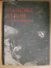 náhled knihy - Hasičské stroje a jejich obsluha